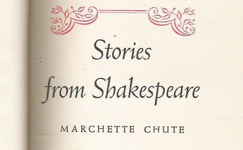 "Favorite Books About Shakespeare: ""Stories from Shakespeare"""